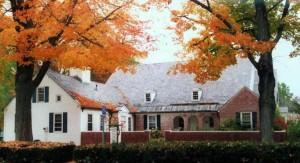Amherst Shotokan Karate practices in Munson Memorial Library